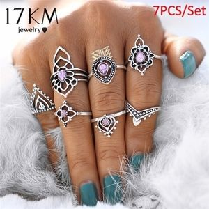 Ring SETS! All Different Styles 7pcs BOHO Vintage